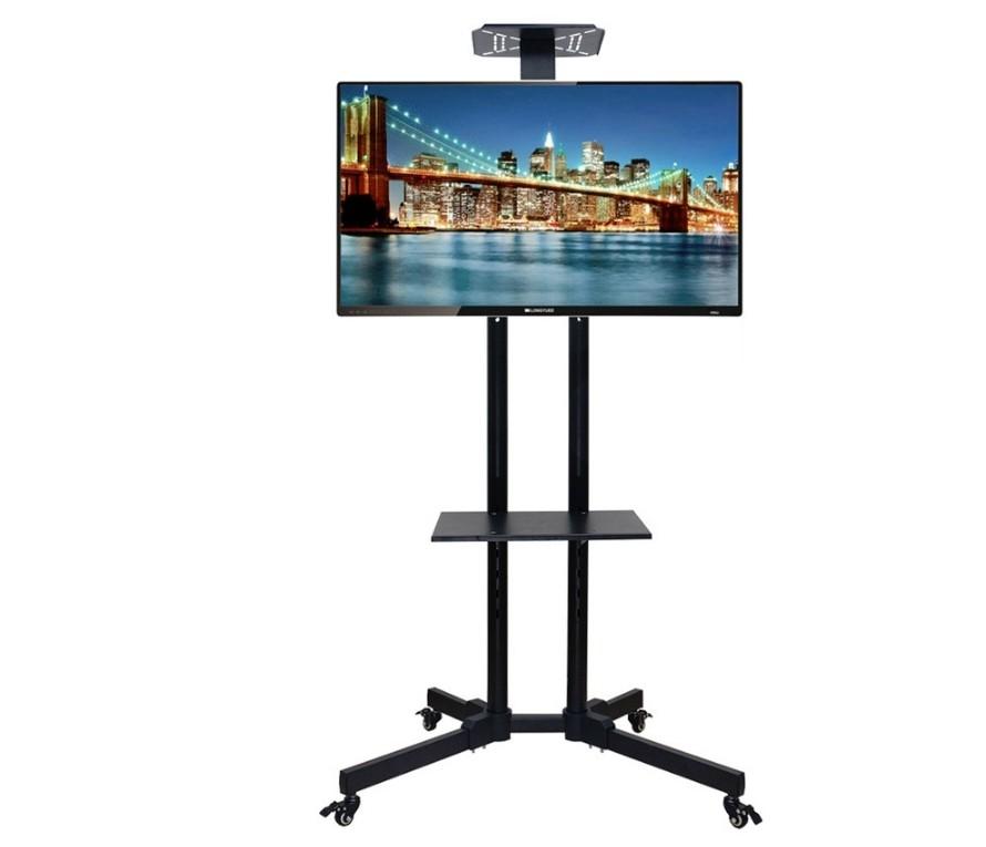 B款電視移動架 帶下托盤 電視推車 電視落地架 電視移動架 電視立架 落地架 32吋~66吋