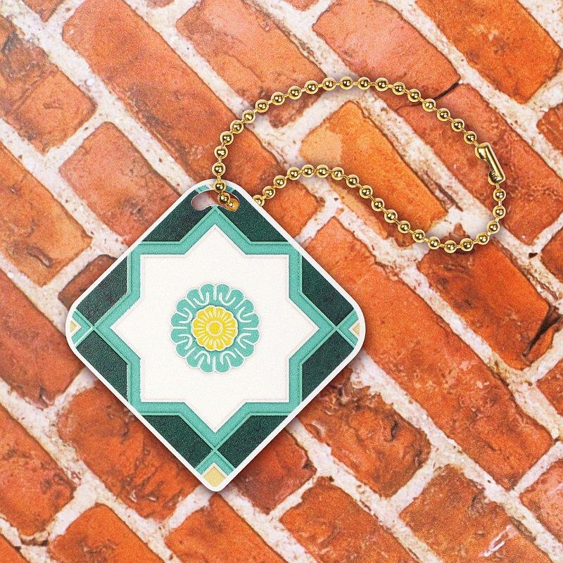 古色古香的花磚,其圖形豐富且別具意義 而如今「花磚悠遊卡」的出現 希望能讓您回憶起昔日的美好 並在任何場合,欣賞它所帶來的寧靜