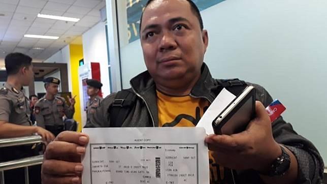 Terjebak Macet Sony Setiawan Nangis Ditinggal Terbang Lion Air, Lantas Dia Dengar Kabar Tragedi Duka