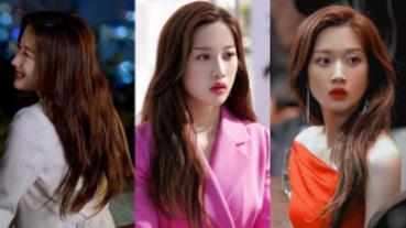 """今年春夏髮廊點名率最高的爆紅髮色""""焦糖紅""""!韓劇《那個男人的記憶法》文佳媖就是最佳示範!"""