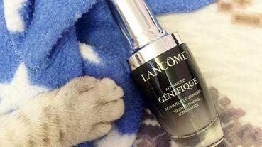 [保養]全新小黑瓶降臨!!!蘭蔻LANCOME超未來肌因賦活露+肌密檢測儀肌膚檢測讓你的保養更精確!