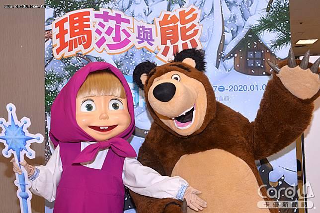找來瑪莎與熊啟動俄羅斯耶誕節主題展,打造可愛聖誕樹與球池,進入雪國的夢幻國度(圖/卡優新聞網)