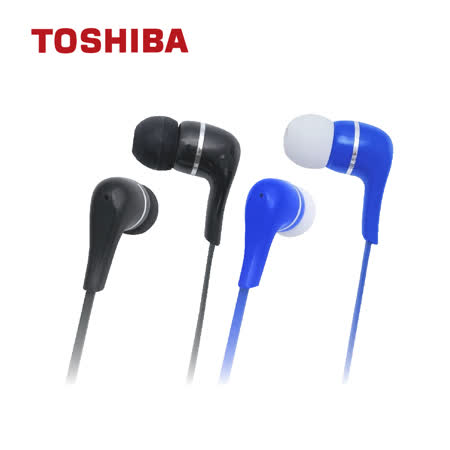 (二入)TOSHIBA東芝 震撼低音有線耳麥 RZE-D32E