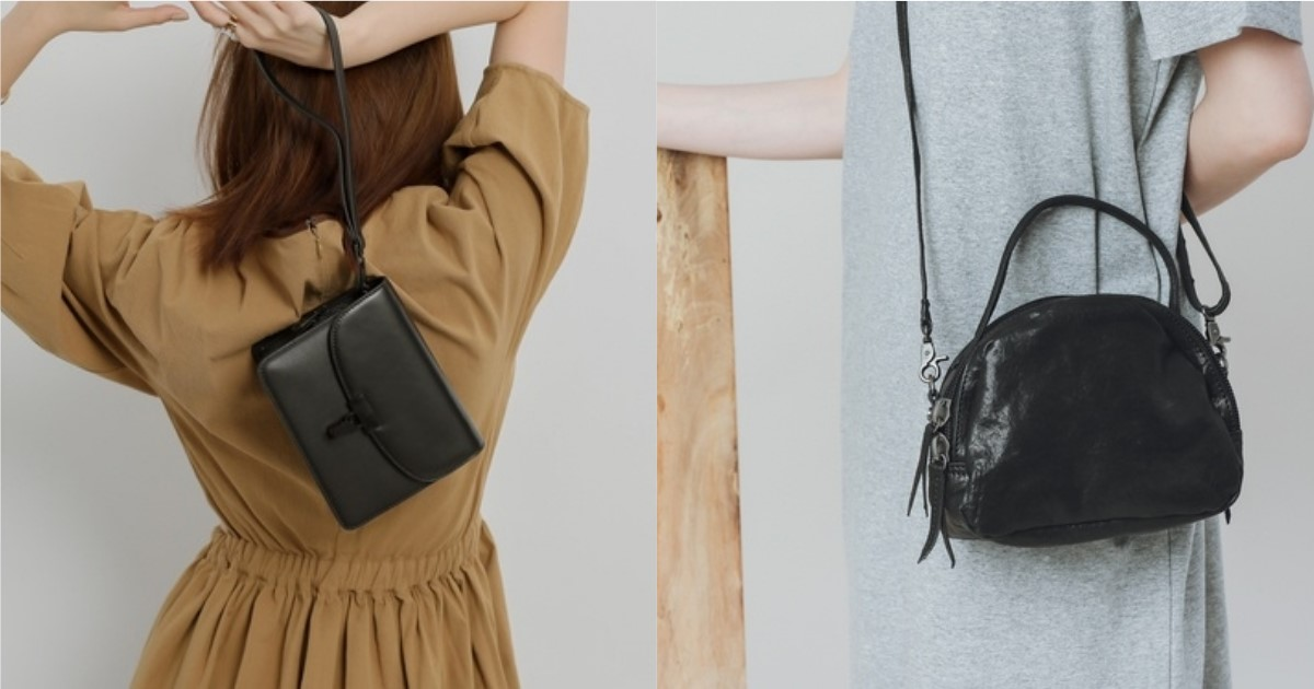 拒絕厚重印象!選擇黑色小包展現輕盈的季節造型