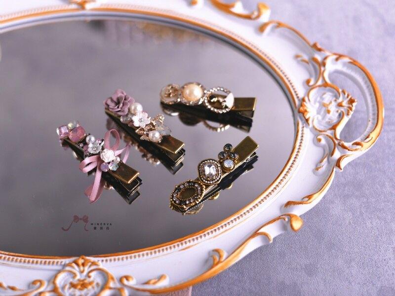 【Minerva】愛戀韓風-巧遇韓星-彩色款 OL髮飾 髮夾 壓夾 彈簧夾 髮插 髮叉新品