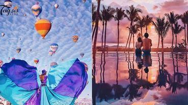 世界實在太美了~找出旅遊靈感的好方法,超美旅遊照要這樣拍!