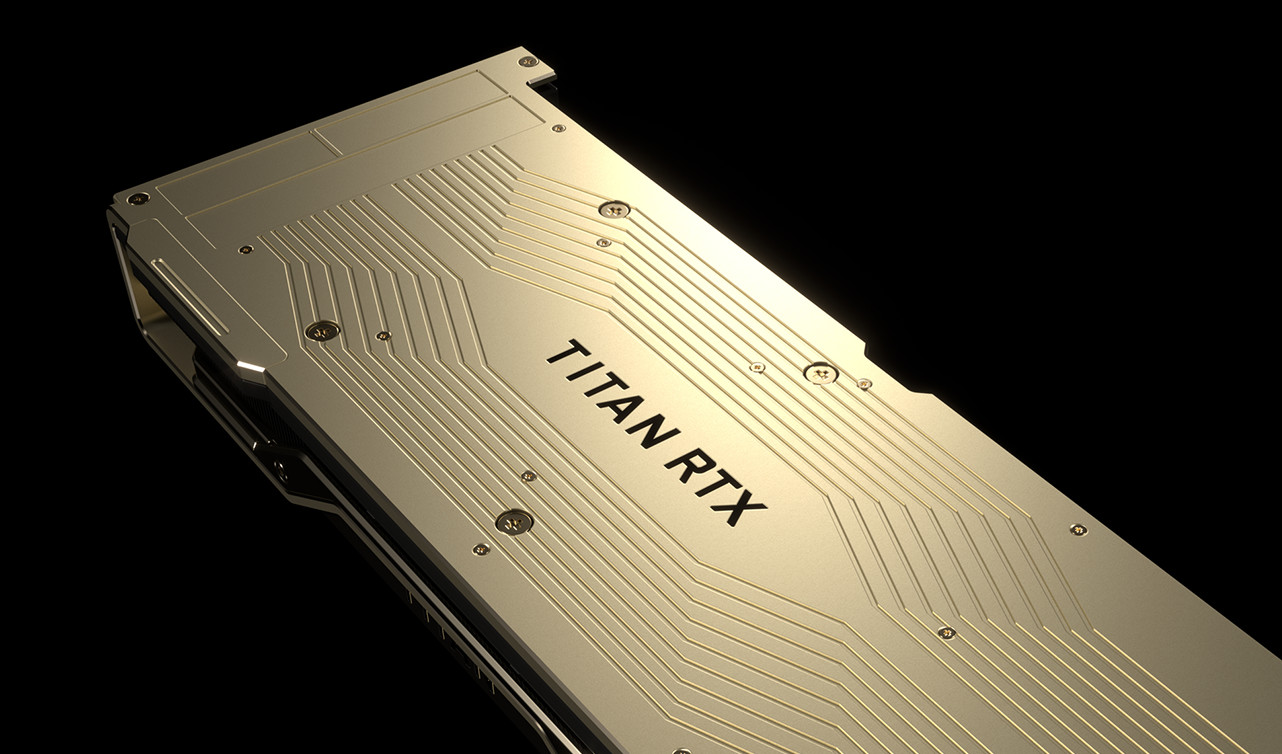 Titan RTX 需佔去雙槽位的散熱器外觀改為<a href=