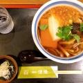 ちからうどん - 実際訪問したユーザーが直接撮影して投稿した西新宿そば手打蕎麦 渡邊の写真のメニュー情報