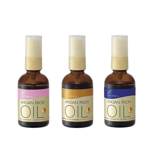 日本製 LUCIDO-L 摩洛哥油免沖洗植萃護髮精華油 髮油 60ml (清爽/修護/滋潤) (購潮8)