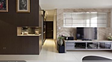 妙用材質與造型 打造舒適休閒的居家好牆