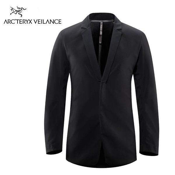 始祖鳥 Arc'teryx【Veilance】Blazer LT 男性輕便防風西裝夾克 黑
