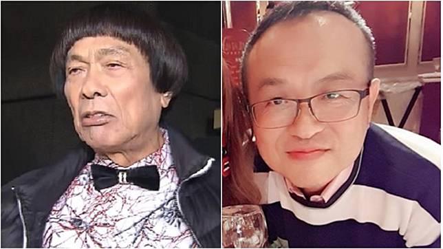 豬哥亮(左)長子謝順福(右)。(圖/TVBS資料畫面、翻攝自謝金晶臉書)
