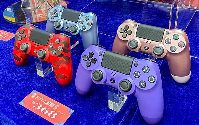 對PS4機主來講,添置新手掣更實際,新春優惠價$368/個。