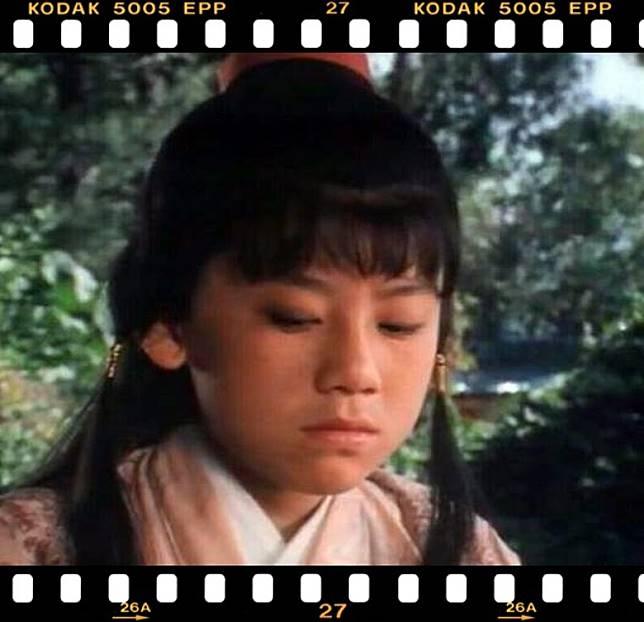 王書麒在《浣花洗劍錄》中飾演童年張國榮。(互聯網)