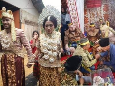 Pernikahan Bule Amerika dan Wanita Bugis Ini Jadi Sorotan Netizen