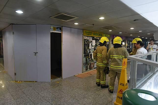消防到場將火救熄。