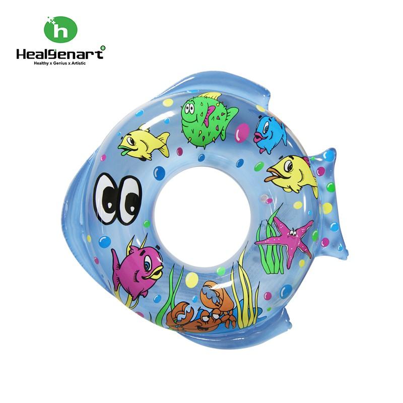 兒童用43cm黃色/藍色可愛魚型泳圈。建議3-5歲孩童OR體型較瘦小的~~內徑:21cm。外徑:43cm 請勿讓0-2歲的小寶寶使用。以免發生危險產品實物照~~現貨: 黃色.藍色請以依一般方式使用~非