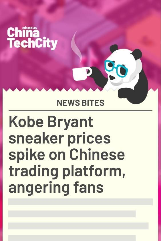 Kobe Bryant sneaker prices spike on Chinese trading platform, angering fans