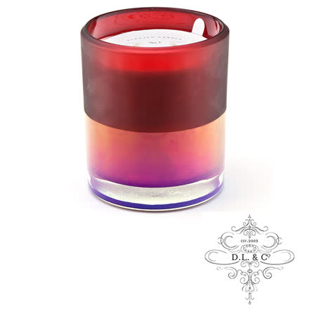 美國 D.L. & CO. ION FROSTED霓虹光瓶系列 Cranberry 波光卡西斯 香氛禮盒 709g