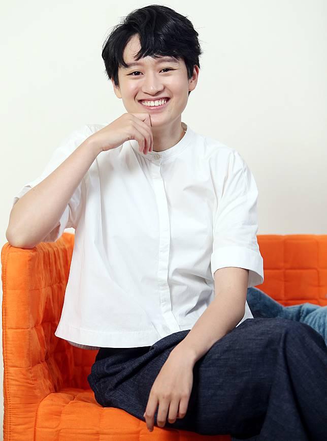 葉慈毓以「20之後」入圍金鐘獎最佳女配角獎。記者侯永全/攝影