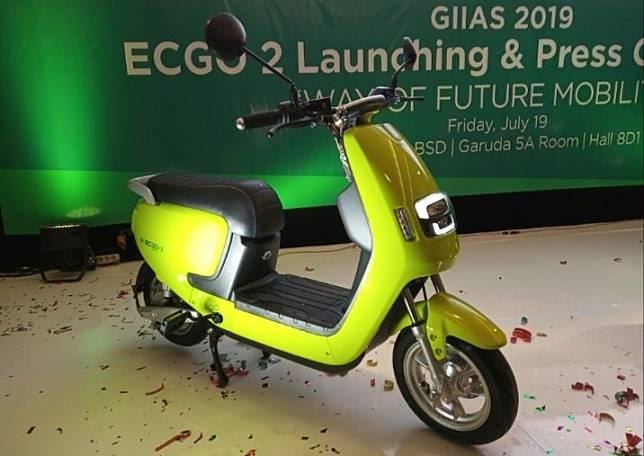 Motor listrik ECGO 2 meluncur di GIIAS 2019