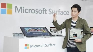 Surface Book 2 極致效能與高靈活性獲設計才子「聶永真」肯定