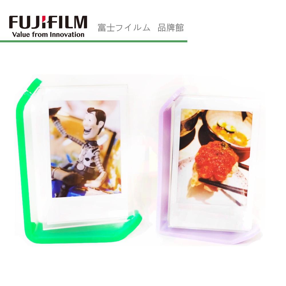 富士 instax Mini 拍立得 底片 旋轉相框架 綠/紫 2色