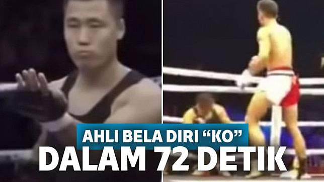 Tantang Petarung MMA, Ahli Bela Diri Tumbang dalam 72 Detik
