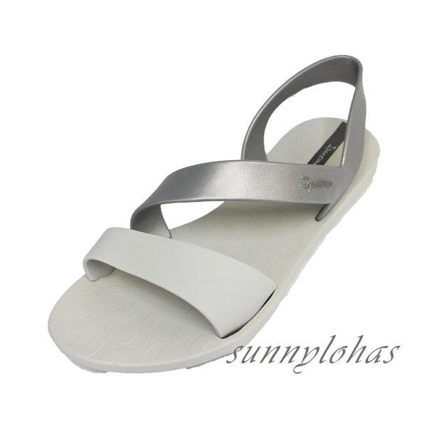 IPANEMA 女款 時尚涼鞋 環繞細帶涼鞋 天然 環保 巴西原裝進口-IP8242923998 灰 [陽光樂活](A4)