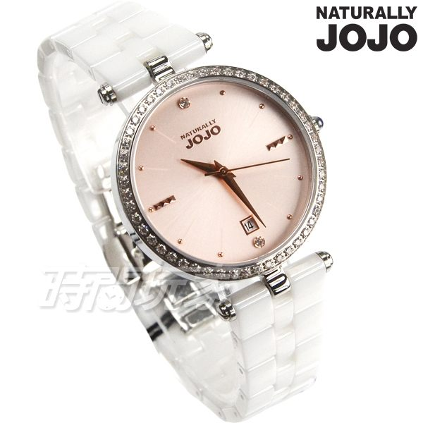 原廠公司貨n保固兩年n藍寶石玻璃鏡面n鑲鑽錶圈設計n陶瓷帶不鏽鋼殼n防水手錶 學生手錶 女錶