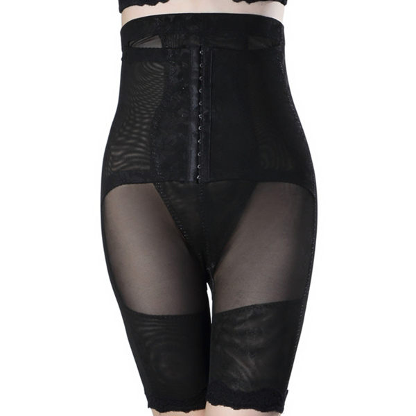 收腹褲束腹褲 塑身褲提臀內褲 新款高腰塑褲 平角產後束腰保養《小師妹》yf2316