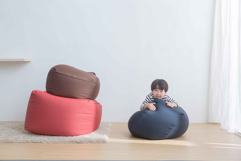 小空間使用也沒問題!MUJI 無印良品再推小尺寸懶骨頭沙發