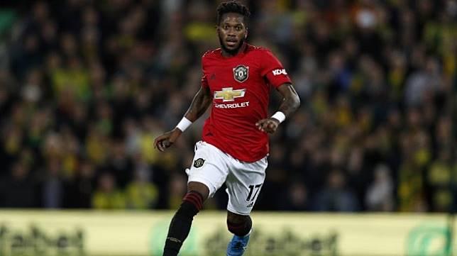 Gelandang Manchester United, Fred Rodrigues. [Adrian DENNIS / AFP]