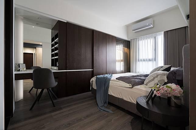 臥室設計實例八:簡約風