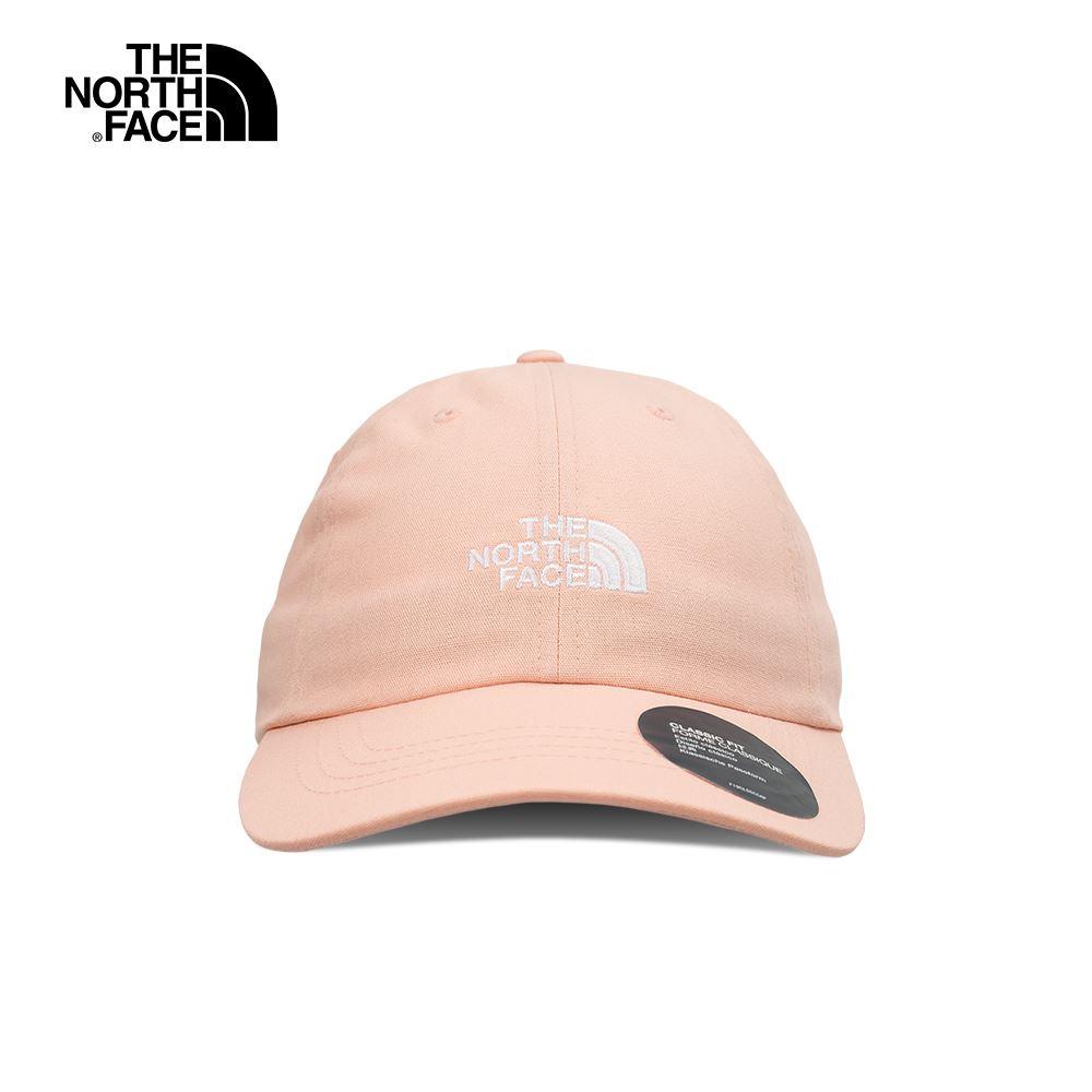 The North Face北面男女款粉色吸濕排汗運動帽|3SH3UBF