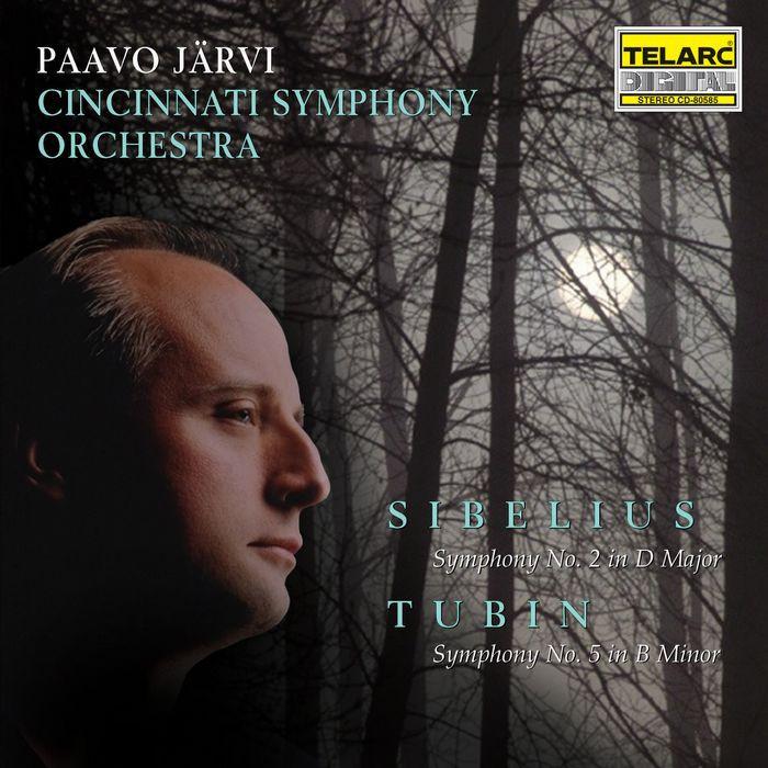 西貝流士 第2號交響曲 Sibelius Symphony No 2 Tubin Symphony No 5 80585
