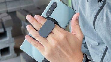 Ohsnap!手機支架也能超薄多變:超磁吸指環 / 無線充電 / 車架開箱體驗(評價 評測 動手玩)