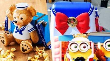 東京迪士尼期間限定的萌系爆米花桶!再加碼大阪環球影城的~