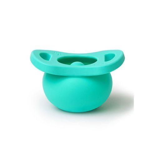秒收設計,掉落時奶嘴自動內縮防髒汙 落地無須立刻清洗,增加育兒便利