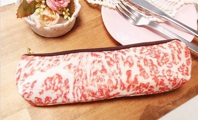 霜降牛肉款拉鏈袋。(互聯網)