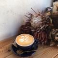 カフェラテ - 実際訪問したユーザーが直接撮影して投稿した大和町カフェリトル ビレッジ カフェの写真のメニュー情報