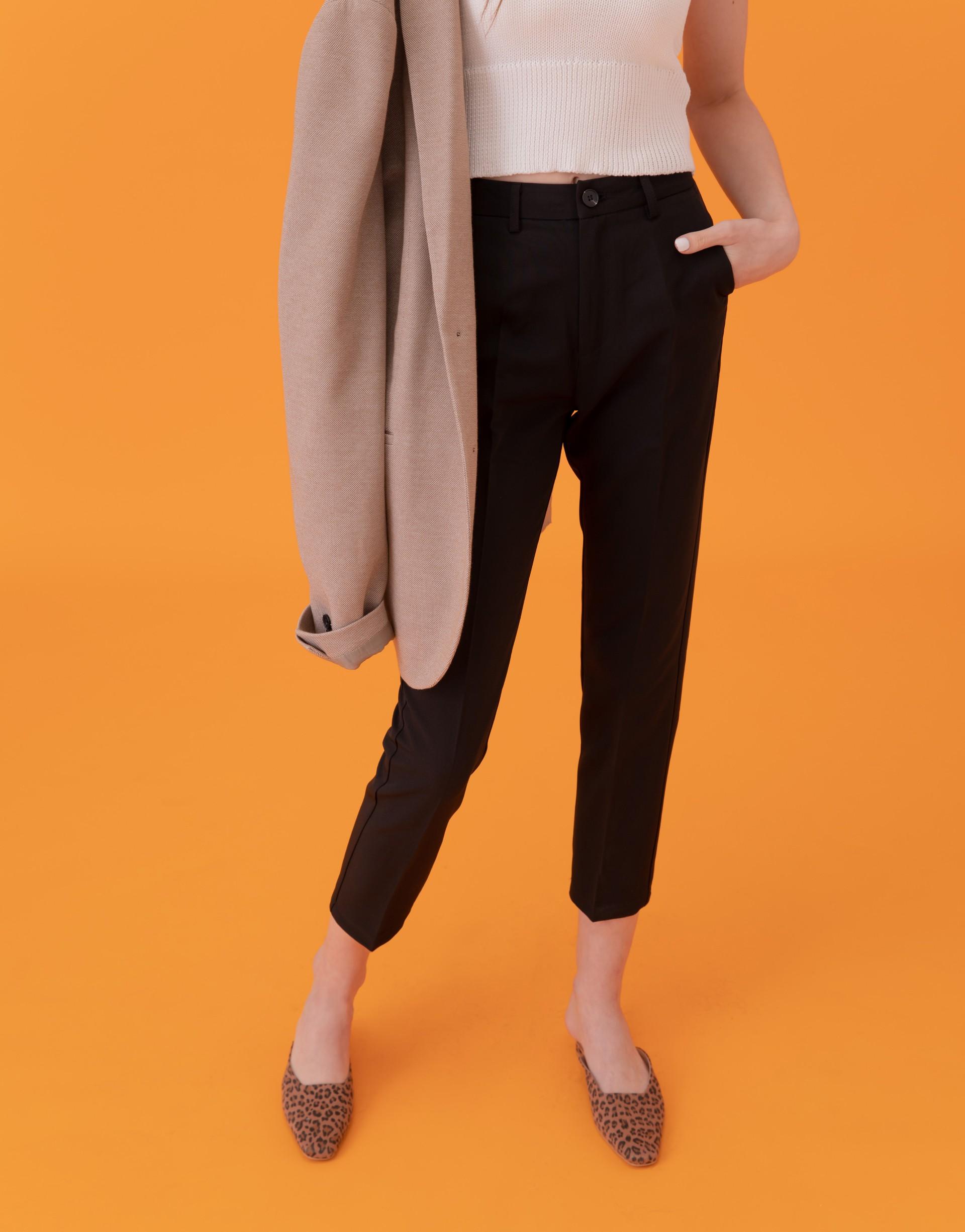 PAZZO+質感顯瘦西裝老爺褲(TIFFANY聯名款)