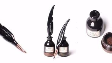 只會在魔法世界或電影裡出現的羽毛筆,超犯規羽毛氣墊眼線膠分享!