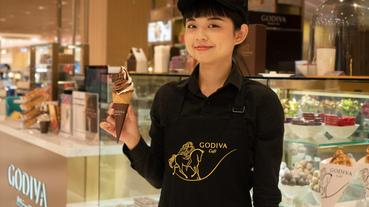 起點嚐鮮 / 不能只有我看到 GODIVA 首間 Café 可芙、鬆餅讓人吃甜甜過好年