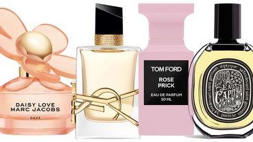 每一款都是高顏值!2020絕美必收「春季香氛清單」,Marc Jacobs萌感雛菊、YSL金色LOGO…都是大寫的美啊~