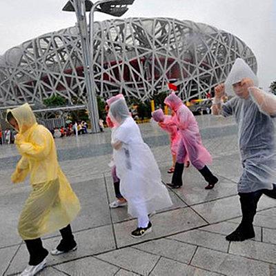 創意生活用品 方便實用壹次性雨衣 便攜雨衣雨具