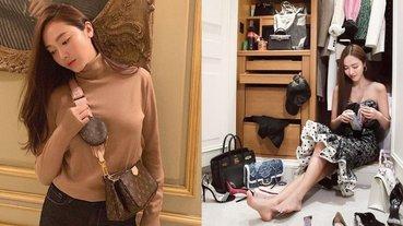 數不完愛馬仕、妳搶不到的香奈兒...揭曉 Jessica 超狂「名牌包收藏」網友:根本包包博物館!