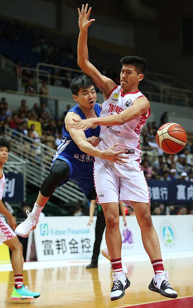 ▲2019瓊斯盃,中華藍張博勝。(圖/中華籃協提供)