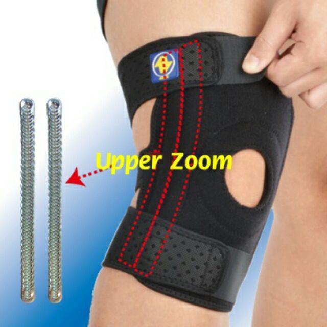#ALEX #雙側條護膝#護膝 #凱溢 #ALEX T-42專業運動款─ 矽膠軟墊,吸濕快乾。產品特色:◎ 三條拉帶採SGS認證環保材質,舒適無毒。◎ 左、右側附『雙』彈簧條,可抽取式設計。◎ 開放式