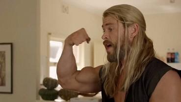漫威官方再推出「雷神索爾的日常生活」 肌肉居然就等於知識和腦袋?
